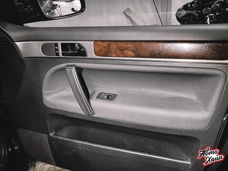 Volkswagen Touareg. Перетяжка салона_8
