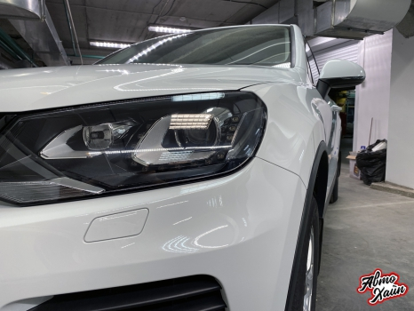 Volkswagen Touareg. Шумоизоляция и полировка_3
