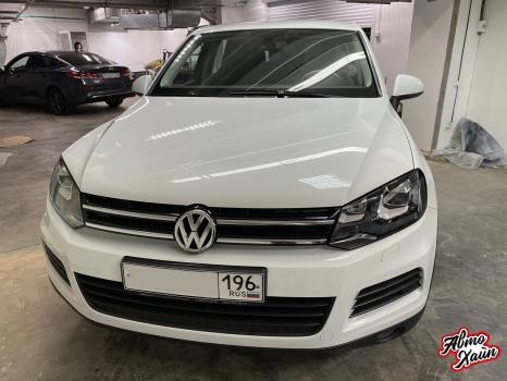 Volkswagen Touareg. Шумоизоляция и полировка_4