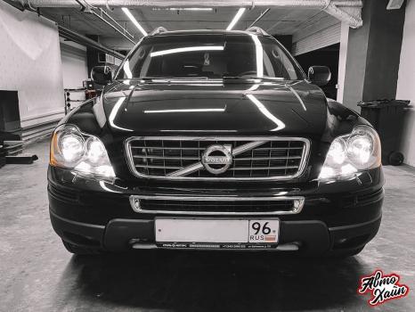Volvo XC90. Перетяжка салона, аквапринт _2