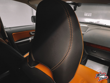 Volvo XC90. Перетяжка салона, аквапринт _3