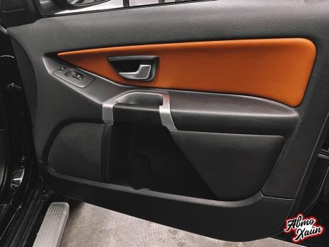 Volvo XC90. Перетяжка салона, аквапринт _7