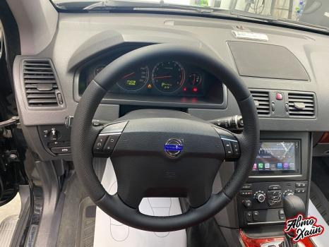 Volvo XC90. Перетяжка салона, аквапринт _8